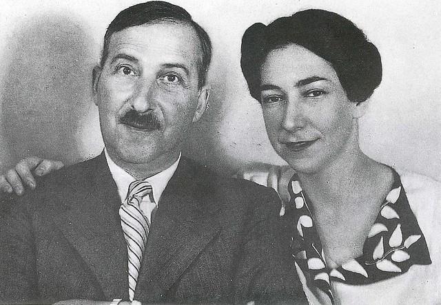 Stefan and Lotte Zweig (credit: Acervo CSZ)