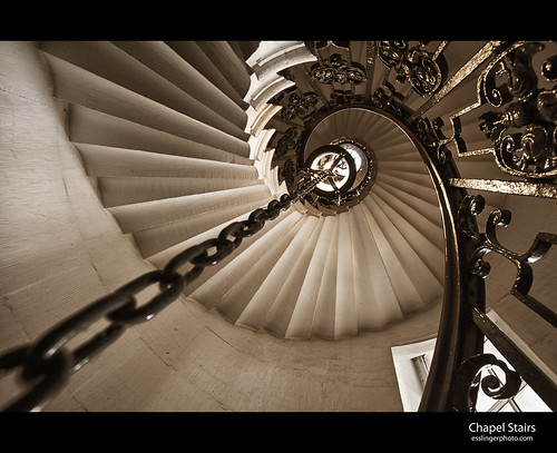 Chapel Stairs | by esslingerphoto.com✈ (Off to Seattle)