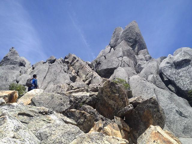 鳳凰山 地蔵岳 オベリスク