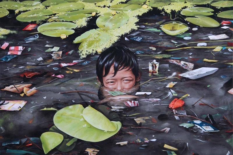 Paintings by Moki