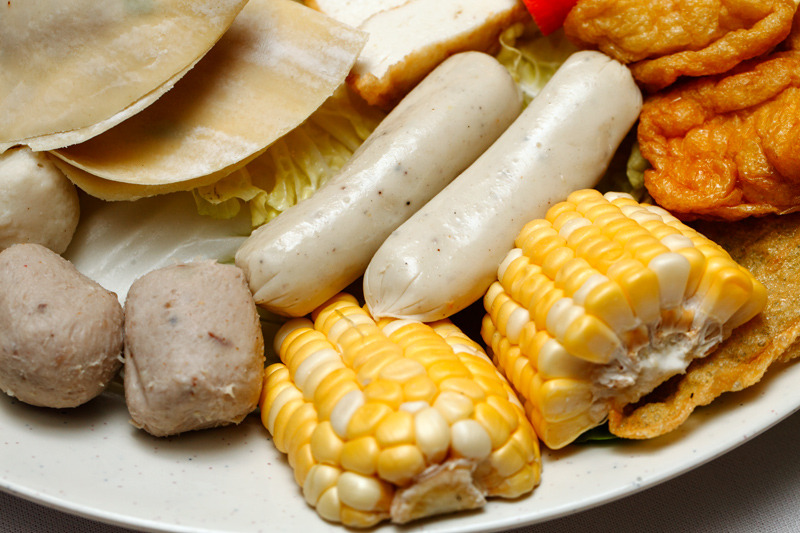 Popo Steamboat Set Sausage and Corn