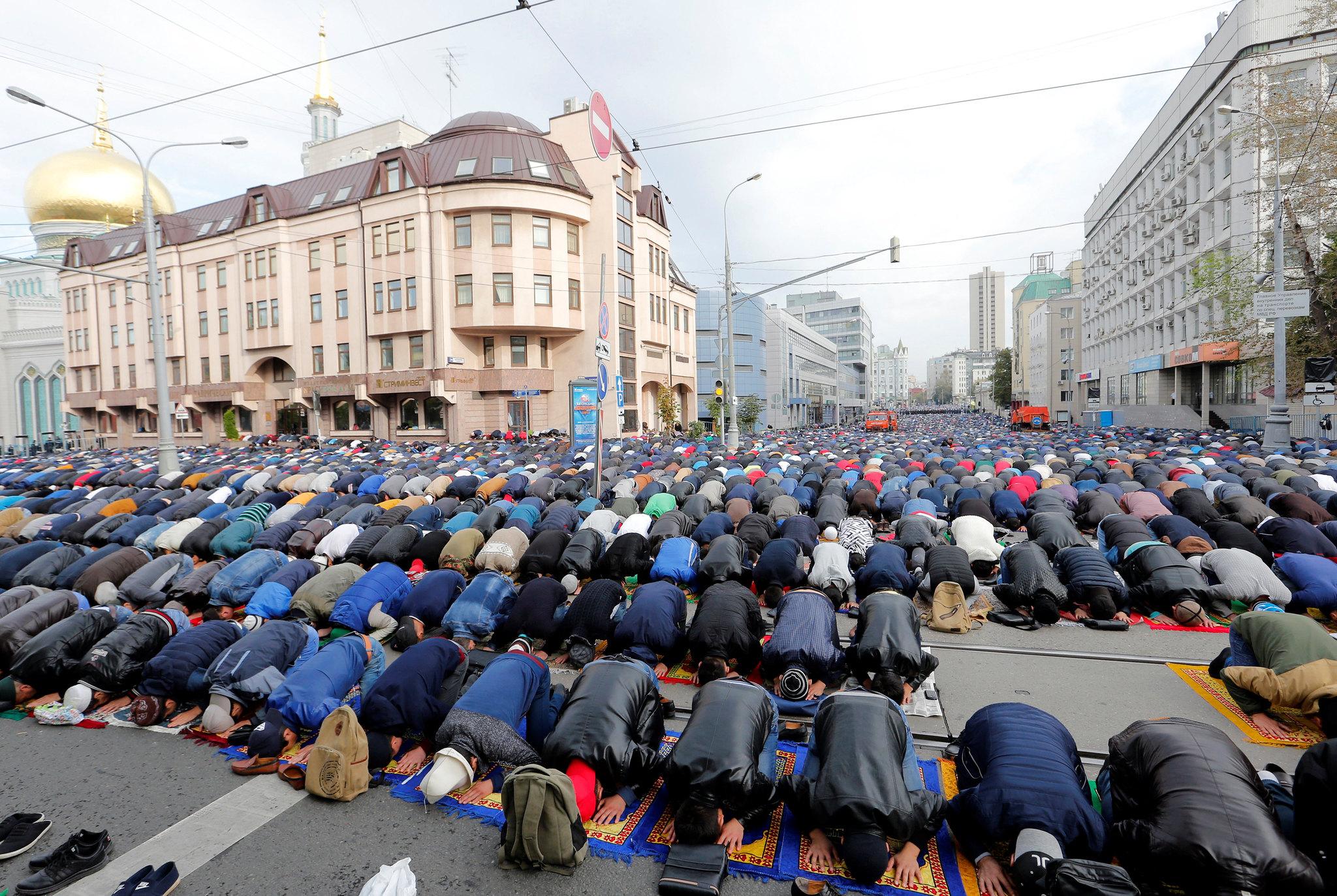 RELIGION-EID/RUSSIA