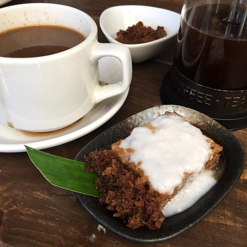 Kalinga coffee and sticky rice