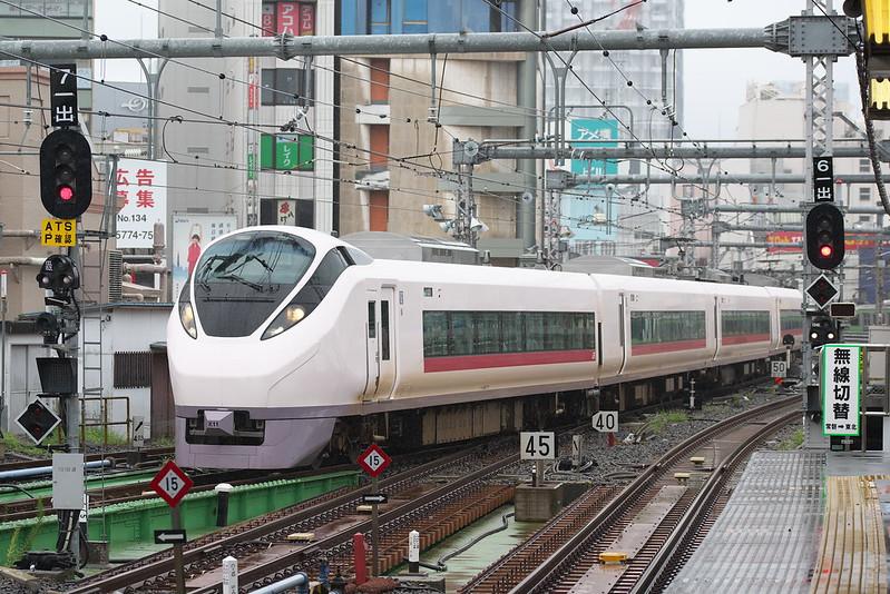Tokyo Train Story 上野駅にて 2016年9月22日