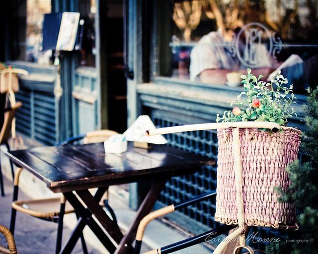 Una tarde en el café