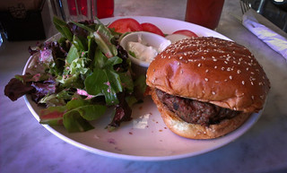 Delicious Lamb Burger from Cafe Bar Astoria - Queens, NYC | by ChrisGoldNY