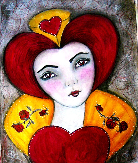 my version of Queen of Hearts