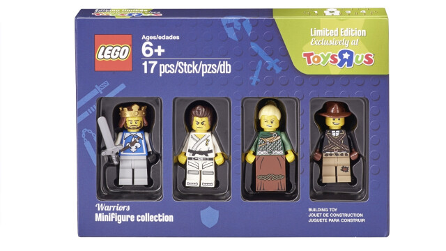 LEGO Minifigure Collection Toys R Us - Warriors