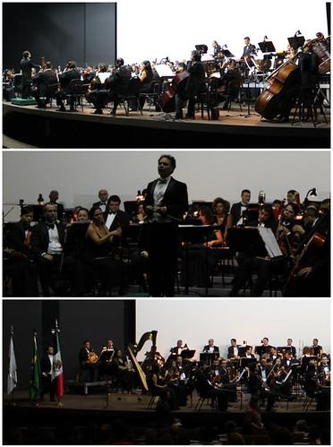 Música sinfónica mexicana deleita en Brasilia