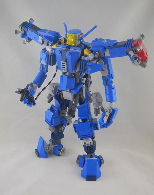 Zero G worker droid front