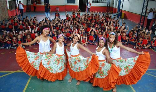 Dia do Folclore - Escola Construindo o 2000 - Nazaré da Mata