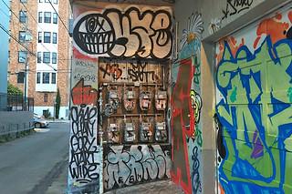 Osage Alley Murals - Meter mural