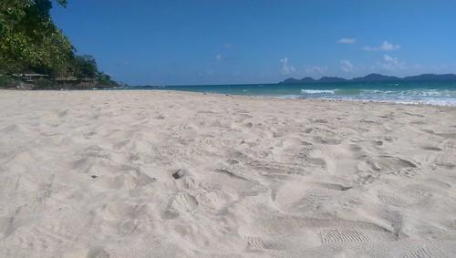 Empty Beach Koh Muk Thailand