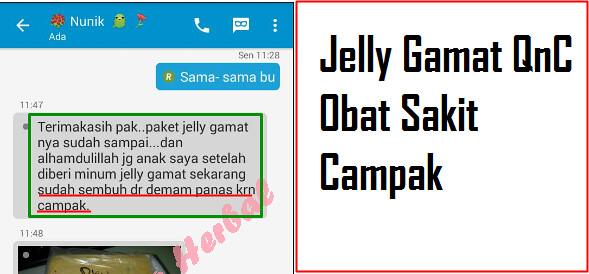 Bukti Nyata Penyakit Sembuh Dengan QnC Jelly Gamat