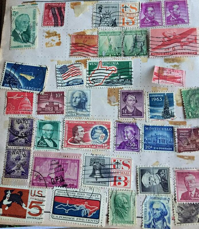 Poatage stamps USA