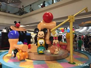CIRCLEG 九龍塘 又一城 DISNEY TSUM TSUM 壽司 「Disney Tsum Tsum Walk N Roll Festival (11)