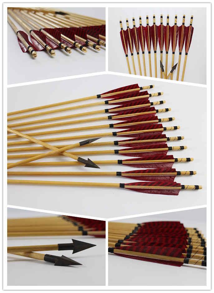 Frecce in legno da caccia
