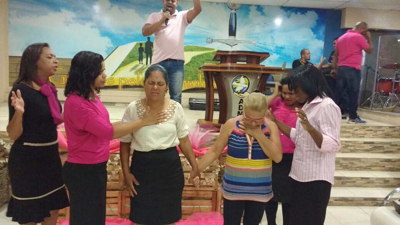 Visitando a Igreja Assembleia de Deus em Mutirão