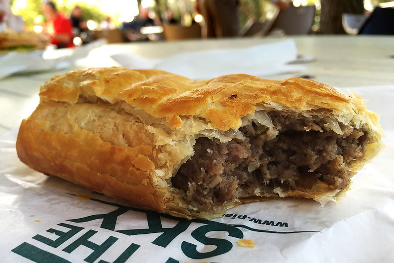 Sausage roll, Pie in the Sky