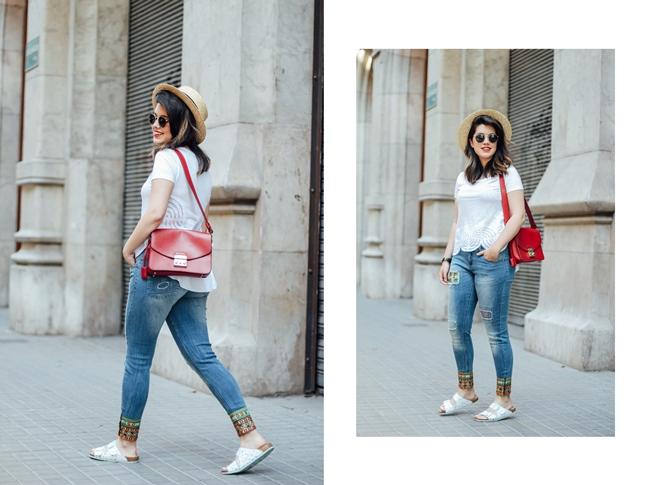 myDesigual look streetstyle ugly shoes barcelona myblueberrynightsblog