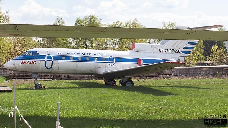 Aeroflot Yak-40