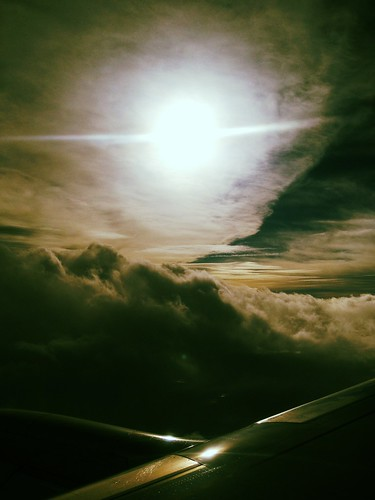 Flying into stormy weather and six days with the in-laws. | by sween
