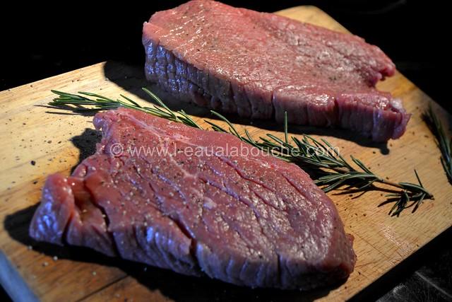 Steak de Boeuf Grillé au Jambon et Romarin © Ana Luthi Tous droits réservés 001