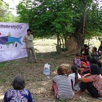 Awareness raising event in the village about nutrients in fish, Cambodia. Photo by WorldFish.