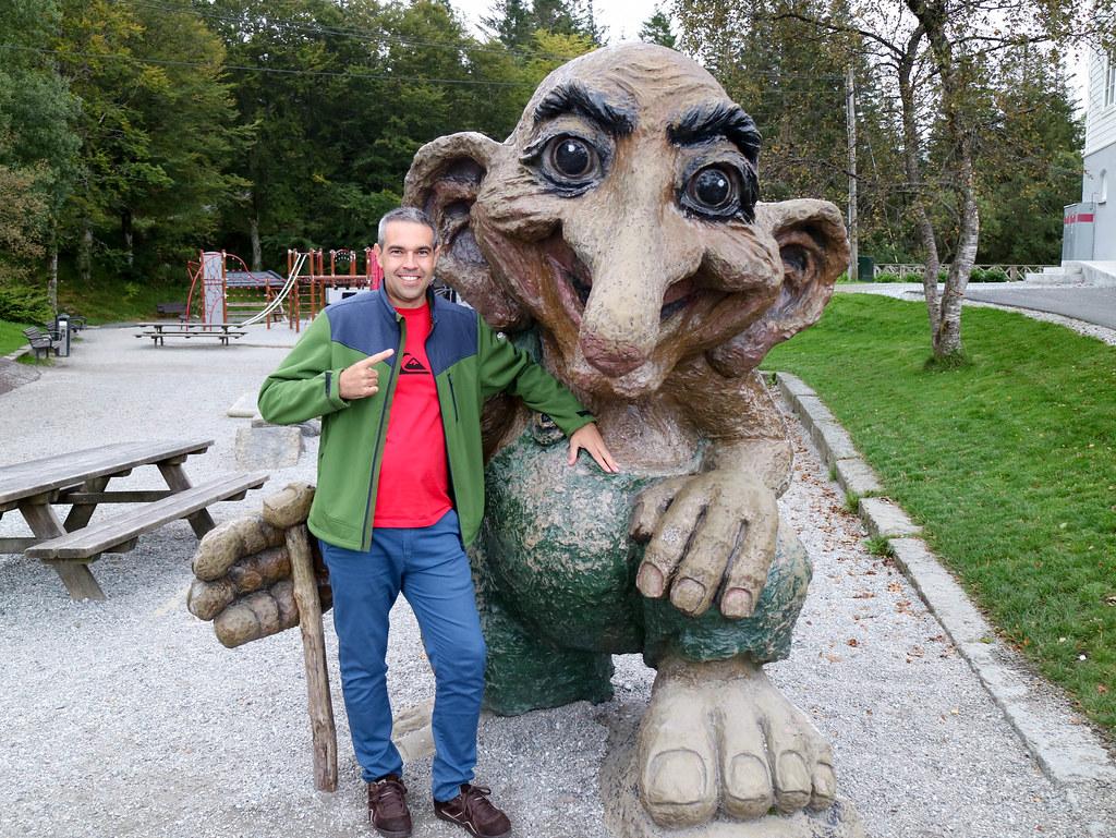 Troll en Noruega