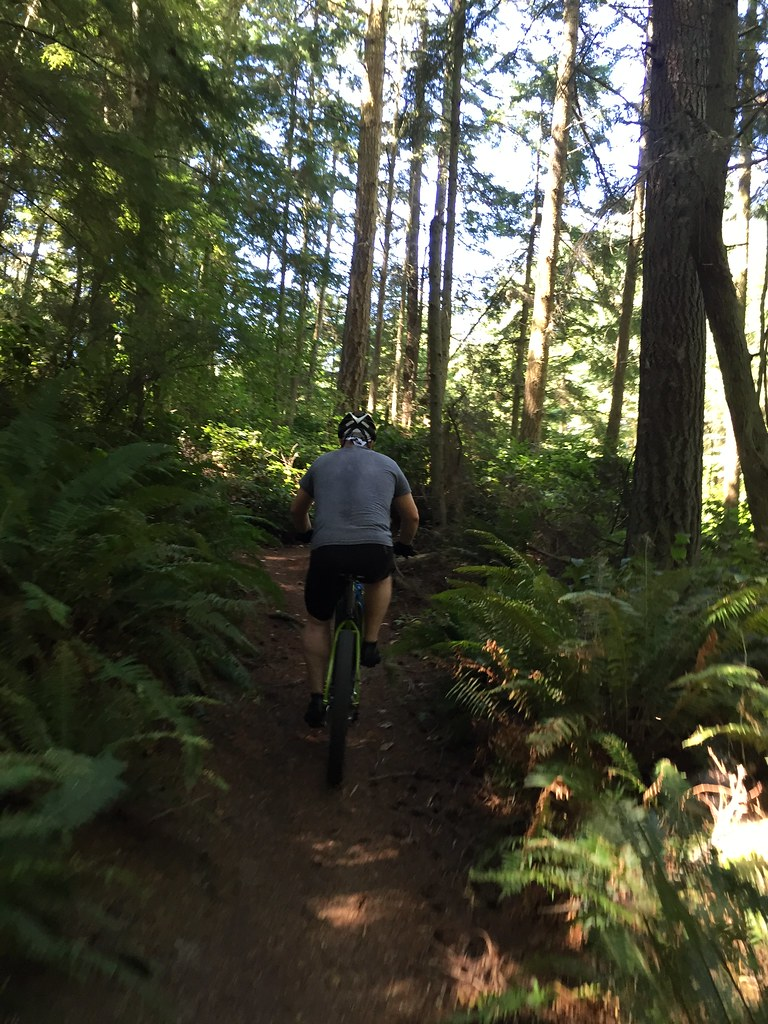 MTB at Fort Ebey
