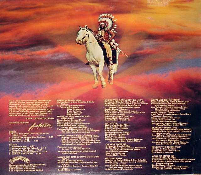 BUDDY MILES BICENTENNIAL GATHERING OF THE TRIBES