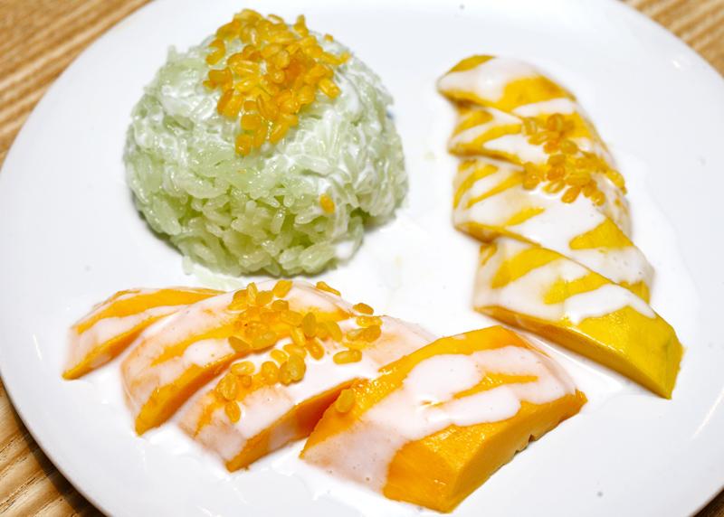 Streat Thai Mango Sticky Rice