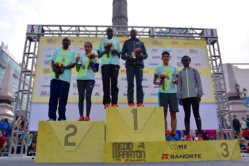 Medio Maratón de la Ciudad de México 2016