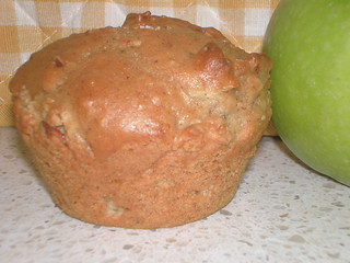 Spiced Apple-Walnut Muffins