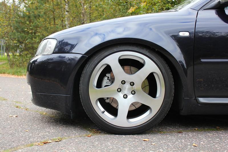 Japrnoo: Datsun 510 & EX Audi S3 29129616684_e7ee7bccb2_c