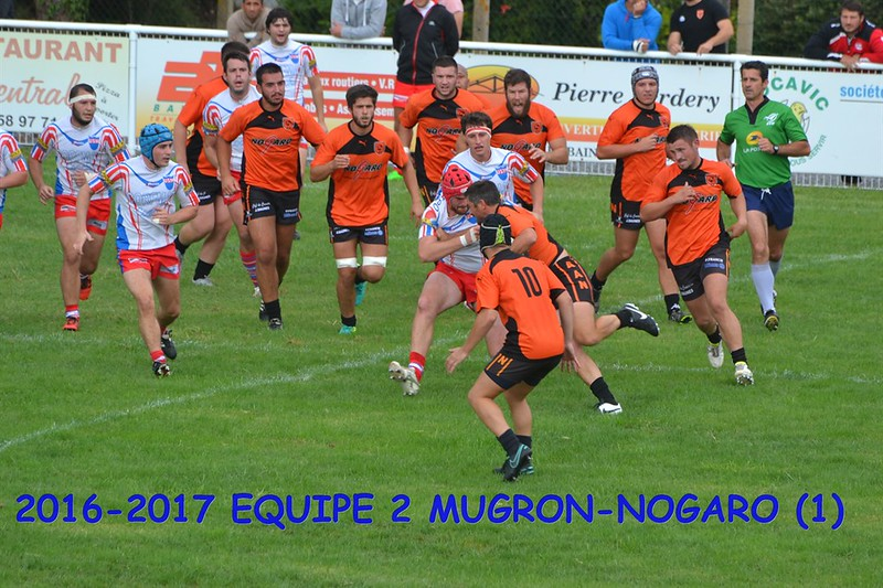 2016-2017 EQUIPE 2 MUGRON-NOGARO