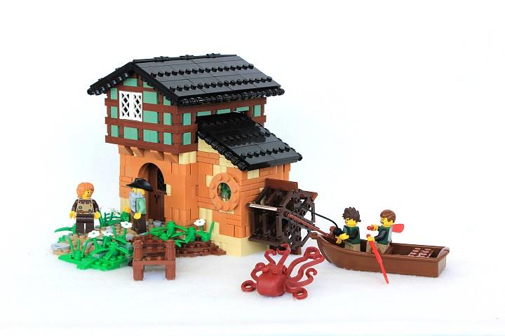 Vermillion Watermill