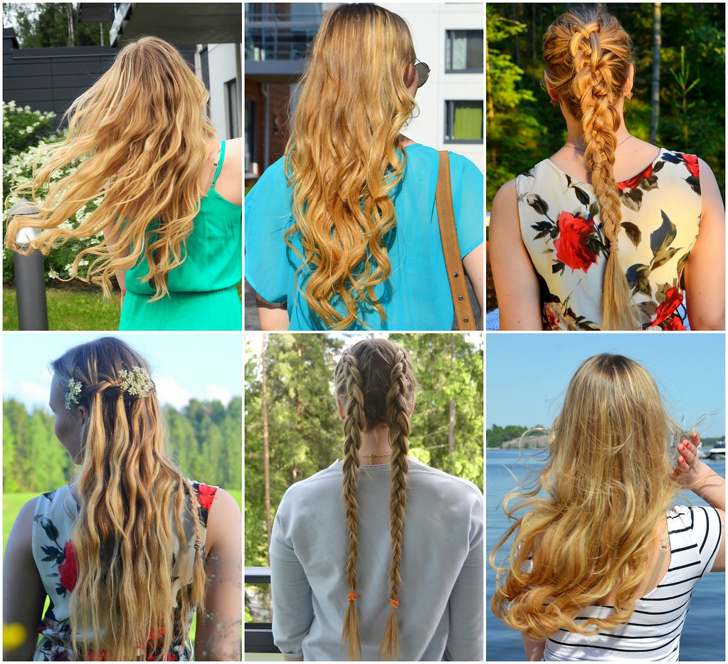 hair styles blonde long hair