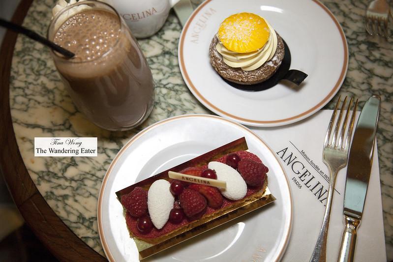 Iced chocolate, Été à Paris, and Riviloli