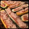 #Stuffed #Zucchini #Bolognese #Homemade #CucinaDelloZio - top w/seasoned breadcrumbs