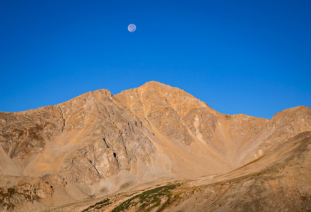Moon Over Huron
