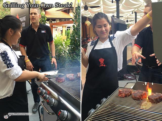 Weber Grill Genesis Steaks
