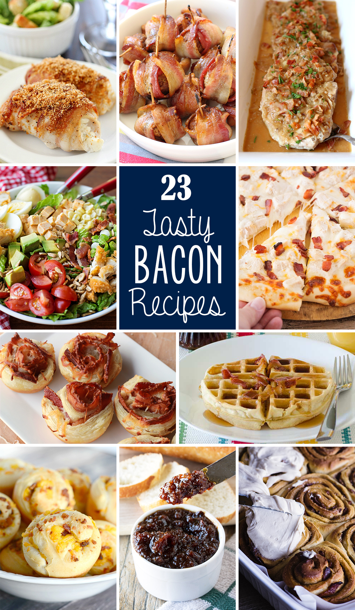 twenty three tasty bacon recipes