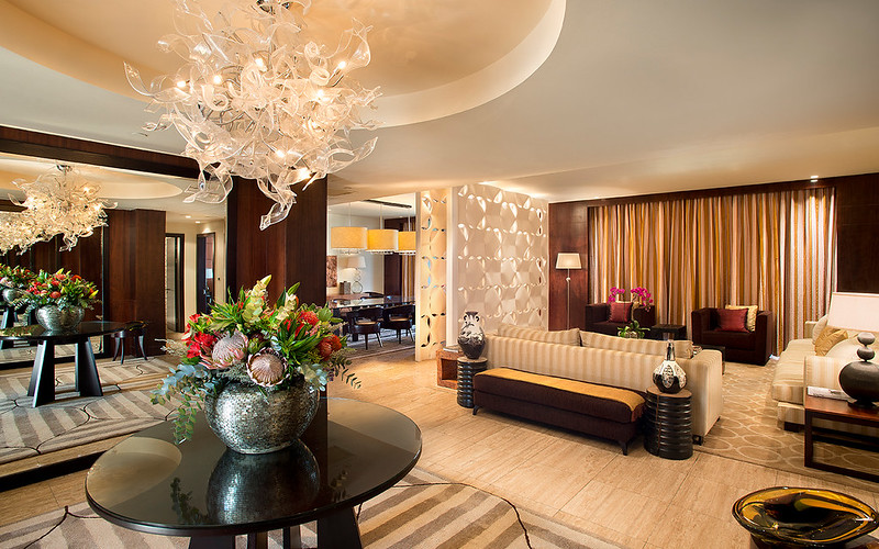 Living Room in the Presidential Suite at One&Only Cape Town