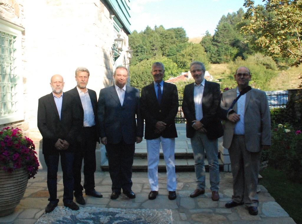 Επίσκεψη μελών του Δ.Σ. στον Μεγάλο Ευεργέτη του ΦΣΦΑ, κ. Νικόλαο Ιωαν. Σωσσίδη