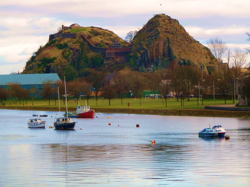 Dumbarton Castle, Scotland