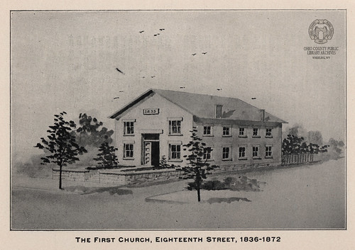 The First German Lutheran Church in Wheeling