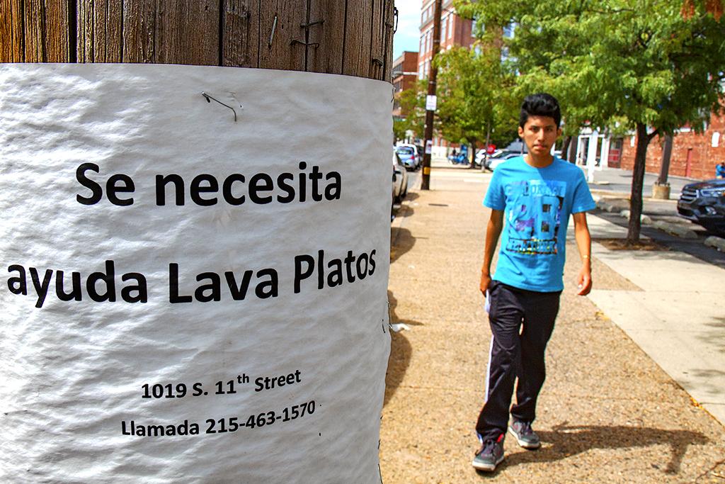 Se necesita ayuda Lava Platos--Washington Avenue