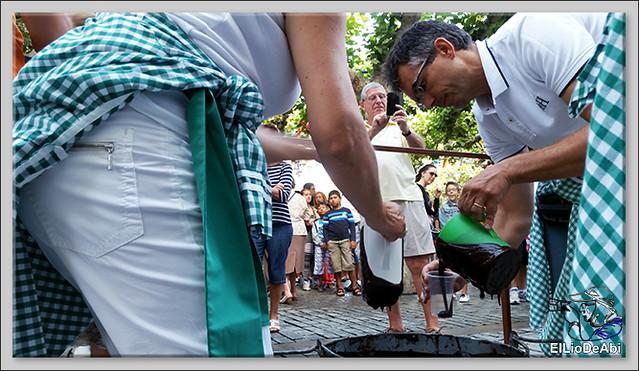 Briviesca en Fiestas 2016 Chocolatada, encierro infantil y verbena (2)