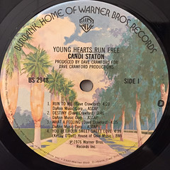 CANDI STATON:YOUNG HEARTS RUN FREE(LABEL SIDE-A)